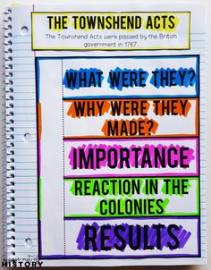 Causes of the American Revolution | FREE | Lesson Plans | American History | Social Studies | High School | Middle School | Interactive Notebook | Graphic Organizers | Unit | Activities | Lessons | Projects | Teaching | Thirteen Colonies | American Revolution | Declaration of Independence | Stamp Act | Boston Tea Party | Patriots | Loyalists