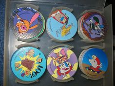 "Does anyone else remember pogs?  I had several as a kid, but unfortunately none of these badass ""Ren n' Stimpy"" ones."