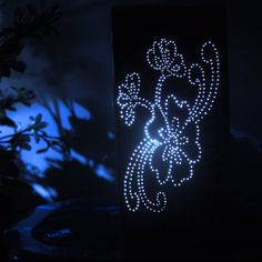 Make a Cardboard Box Night Light