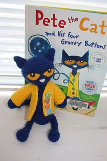 Pete the cat crochet
