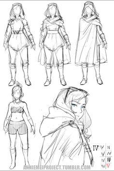 """""""new Megan concept sketches"""" Fantasy Character Design, Character Design Inspiration, Character Art, Figure Drawing Reference, Art Reference Poses, Manga Drawing Tutorials, Dark Drawings, Art Poses, Drawing Base"""