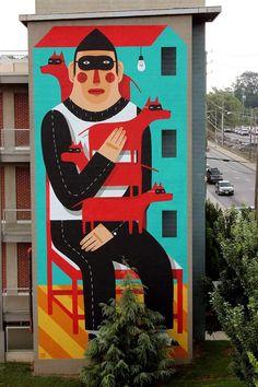 Pickle and Joe Blog Street Art