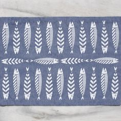 Our new placemats are here! #thebluewhite #fish #greece #summer #food