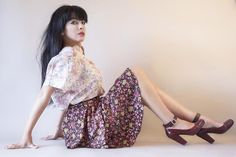 Pink Flower … Easy Outfit… By Debora Cattoni…