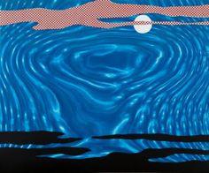 Roy Lichtenstein, Moonscape