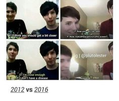 It kind of makes me sad that that happened in 2012 but I'm so glad that no homo Howell is over