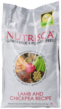 Dogswell Nutrisca Dog Food, Lamb and Chickpea, 4-Pound Package -- Want additional info? Click on the image.