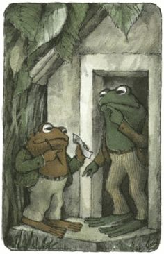 """May 22nd: Arnold Lobel, author of """"Frog & Toad Together,"""" was born on this day in 1933. Frog and Toad--there's no nice way to say this--are morons, and maybe that's what makes this Newbery Honor one of the most popular Early Readers ever! While your child struggles to make sense of the text, he/she is comforted by the fact that he/she'll never be as clueless as the dolts in the book! It's like hanging out with Larry & Curly while Moe fails his GED. Let's hear it for Frog and Toad!"""