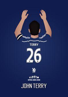 Le prochain épisode de mes légendes Chelsea FC imprimer série, aux côtés de Frank Lampard et Gianfranco Zola est capitaine, chef de file, légende John Terry. Une grande décoration cadeau ou une affiche pour n'importe quel fan de Chelsea, célèbre une, si ce n'est pas, la figure defenitive de jamais porter le maillot bleu. Le prix indiqué est pour une impression de format A3, format A2/A1/A0 sera £20. Livraison gratuite dans le Royaume-Uni, £4,00 pour l'étranger - tous les articles sont…
