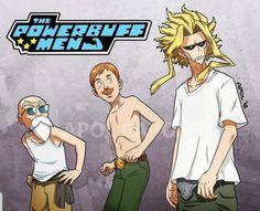 I guess & Manga Anime W, Fanarts Anime, Otaku Anime, Anime Characters, My Hero Academia Memes, My Hero Academia Manga, Boku No Hero Academia, Cartoon Crossovers, Anime Crossover