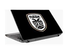 παοκ(μαύροbackground),αυτοκόλλητοlaptop Laptop Stickers, Electronics, Consumer Electronics