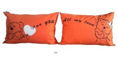 """""""For You All My Love"""" Couple Pillowcases-Romantic Valentine's Day Gifts for Couples, Cute Valentines Gifts for Him or Her, Romantic Anniversary Gifts"""