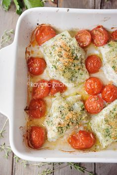 Baked Cod With Crispy Herbed Topping. Made this tonight..amazing! Check out this blog for more yummy dishes!