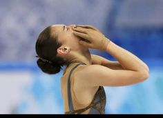 This French writer does not agree with Adelina's gold. But, in the end, she had more points. And, she really did have more fire on the ice in her long program. Sochi 2014.