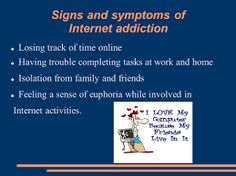 Image result for signs of internet addiction