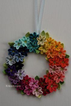 Crochet Flower Tutorial, Form Crochet, Crochet Flower Patterns, Crochet Art, Crochet Home, Crochet Crafts, Crochet Flowers, Knitting Projects, Crochet Projects