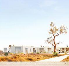 More details on Studio Cadena's Marfa Texas Housing finalist entry | THE LONG HOUSE by Studio Cadena | Bustler