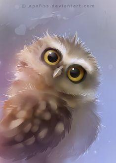 burrowing owl by Apofiss.deviantart.com on @deviantART