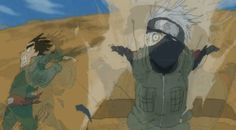 Kakashi vs Gai: Race Probably one of the funniest episodes of Naruto!