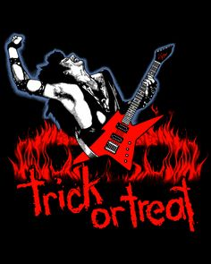 Trick Or Treat - Fright rags Horror Movie Characters, Horror Movie Posters, Movie Poster Art, Horror Movies, Art Posters, Trick Or Treat Film, Horror Shirts, Kiss Rock Bands, Vintage Horror