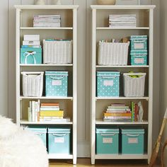 Shop chatham bookcase from Pottery Barn Teen. Our teen furniture, decor and accessories collections feature fun and stylish chatham bookcase. Create a unique and cool teen or dorm room. Wall Bookshelves, Bookcase Storage, Book Shelves, Bookcase Styling, Wall Shelves, Girl Room, Girls Bedroom, Bedroom Office, Dream Bedroom