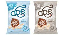 FoodBev.com | News | Ape Snacks launches crispy coconut curls as a healthy snacking alternative