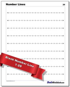 A printable number line is a great resource for teaching a wide variety of math topics. Numbers can seem very abstract, and many of the procedures we use to teach math operations are sometimes more formulaic. The printable number line PDFs on this page are designed for a variety of applications... Printable Number Line, Printable Numbers, Positive Numbers, Negative Numbers, Addition Of Fractions, Addition And Subtraction, Learning Fractions, Teaching Math, Fraction Chart