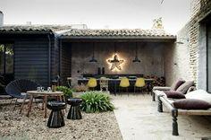 La maison de vacances dIsis-Colombe Combréas ...