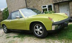 """Delphi Green Metallic"" 1974 Porsche 914 2.0L"