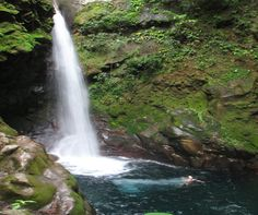 """5 Central and South American waterfalls that'll leave you speechless: """" 4. Oropendola, #CostaRica """"... is located off one of the paths just outside of the Rincón de La Vieja National Park. You'll pay a small admission to hike to the Oropendola Falls. From the main gait, it's a 20-minute walk. This waterfall is 82 feet (25 meters) tall.  The bright-blue plunge pool narrows to a clear stream opposite the waterfall..."""" #CentralAmerica"""