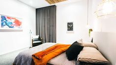 The Block Glasshouse week 3 room reveal - guest bedroom week #theblock #bedroom #guestbedroom