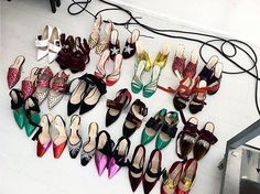No such thing as too many shoes... . . . #ThreadsStyling #Regram #Attico #BTS #SOTD