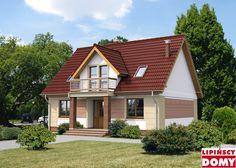 Saloniki II Fot. Lipińscy Domy #czerwonydach #domowy #projekty #dom