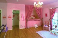 Adorable dance studio themed room for your little ballarina! (The Bluffs at Heritage, TX)