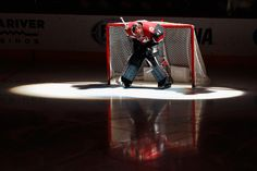 GLENDALE, AZ - NOVEMBER 19: Goaltender Mike Smith #41 of the Arizona Coyotes is introduced before the NHL game against the San Jose Sharks at Gila River Arena on November 19, 2016 in Glendale, Arizona. (Photo by Christian Petersen/Getty Images)