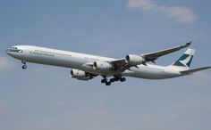 Airbus 340 - Cathay Pacific