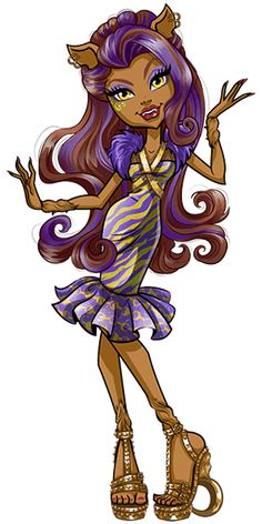Clawdeen+Wolf+-+Welcome+to+Monster+High+-+Dance+the+Fright+Away.1.png.png (300×600)