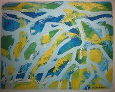 Maleri Vekst2, 80x100 cm