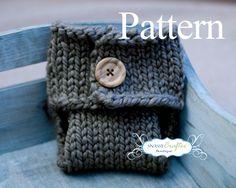PATTERN - Diaper Cover Pattern, Newborn Pattern, Knit Pattern, Baby Knit Diaper Cover Pattern, Newborn Diaper Cover Pattern, Tush Wrap. $3.99, via Etsy.