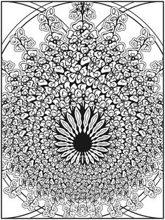 Welcome to Dover Publications  Creative Haven Nature Fractals Coloring Book