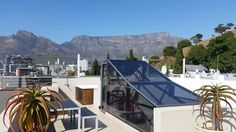 15 De Smit in Cape Town (Sleeps Situated in trendy De Waterkant Village area of Cape Town. Private Roof Deck with views! Cape Town Accommodation, Table Mountain, Roof Deck, South Africa, Outdoor Decor, House, Home, Rooftop Deck, Haus