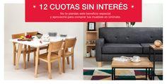 Este fin de semana vení a #Unimate y comprá #muebles para tu casa en 12 cuotas sin interés. Sábado: de 11 a 19 hs. Domingo: de 15 a 19 hs. Te esperamos. www.unimate.com.ar