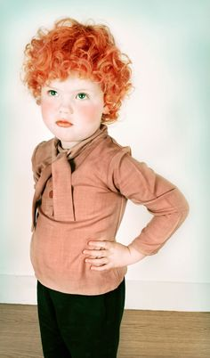 ginger (don't worry baby in womb, I will still love you no matter what color your hair is... but mama wants a redhead! lol)
