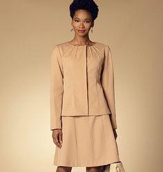 B6257, Misses'/Misses' Petite Jacket, Dress and Skirt