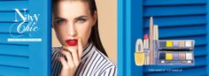 NAVY CHIC Spring collection   Femminile e ultra chic, il #makeup Primavera 2014 richiama raffinate sfumature oltremare e i riflessi iridescenti dell'acqua che scorre sulla sabbia.