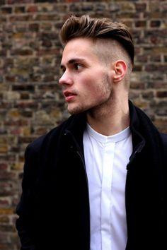 coupe courte homme -undercut-cheveux-rases-cotes