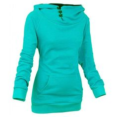 Nova High Collar Women's Pullover Hoodie