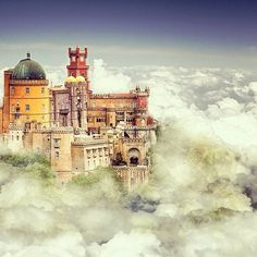 Sintra in Portugal. Magical castle