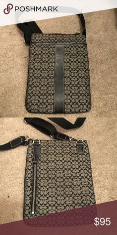 Authentic Coach Crossbody Was given to me as a gift but not really my style. Feel free to make offers :) Never been used! Coach Bags Crossbody Bags