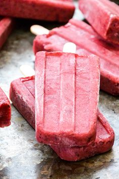 berry-beer popsicles
